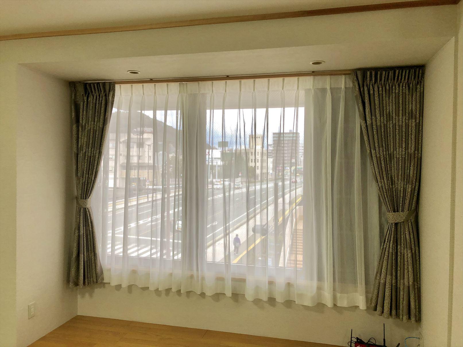 detailed look 22481 44ebe 和室にモダンな遮光カーテン! | カーテンコール スタッフBlog