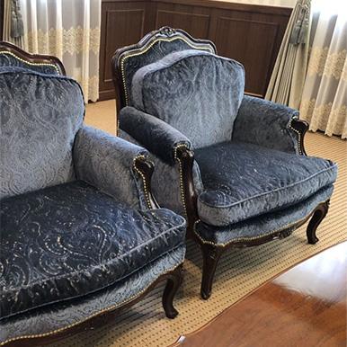 椅子生地張替え